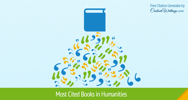 most cited books in humanities
