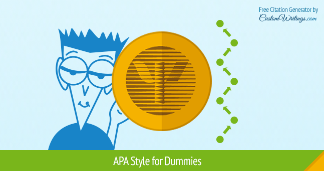 APA style for dummies
