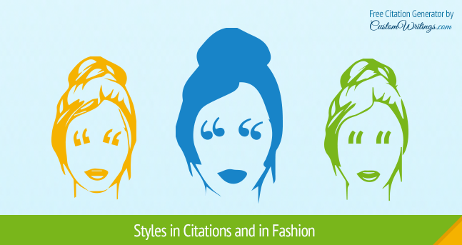 Styles in Citations and in Fashion