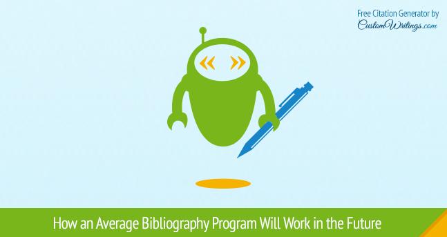 bibliography program