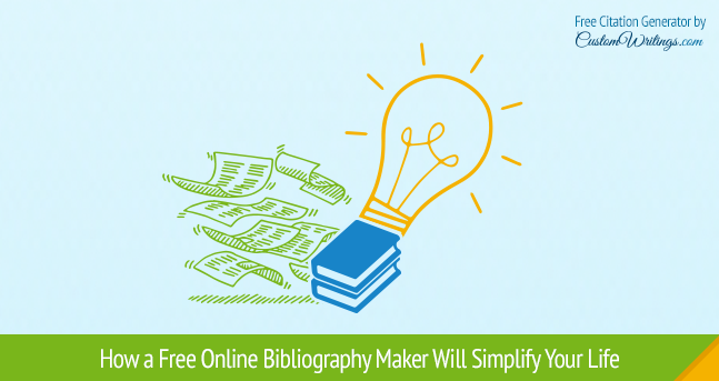 free online bibliography maker
