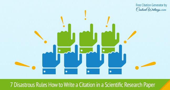 Citation in a Scientific Research Paper