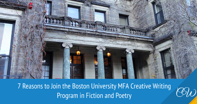 Boston University MFA Creative Writing Program in Fiction and Poetry