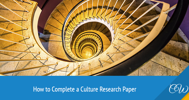 Culture Research Paper Writing