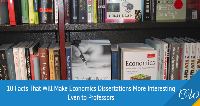 Facts about Economics Dissertations