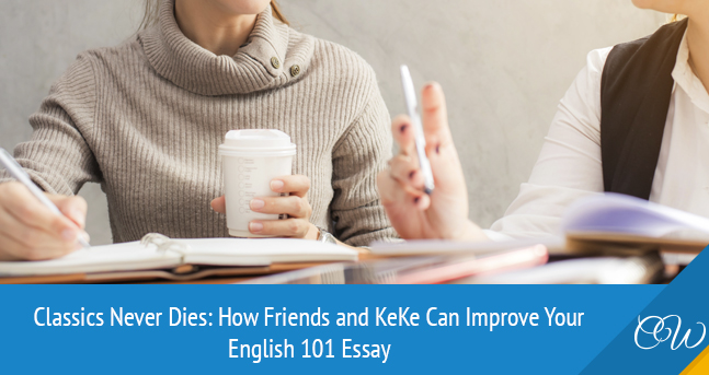 The Use Of Keke  Friends Tv Show In English  Essay Writing  How To Improve Your English  Essay