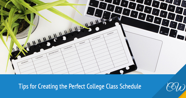 Creating Perfect College Class Schedule