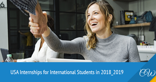 Internship in USA for International Students
