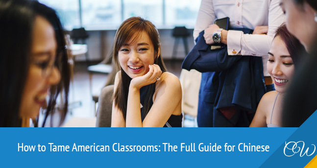 American Classroom for Chinese Students