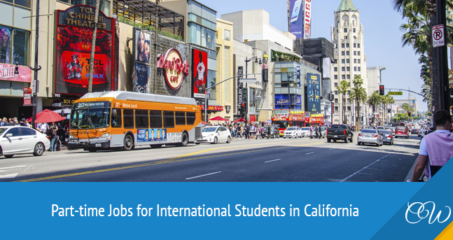 Part-Time Jobs for International Students in California