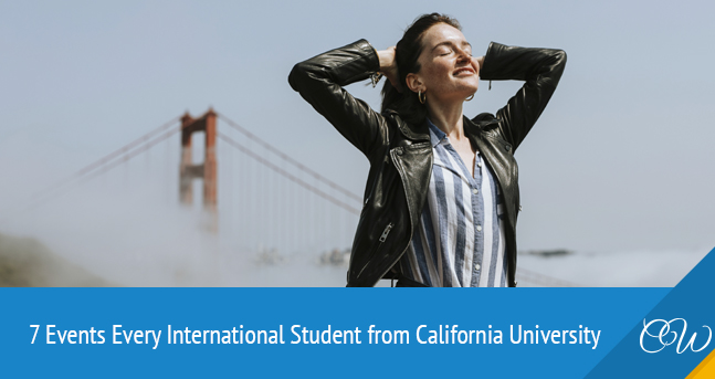 International Student California University Events