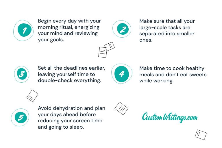 Useful tips on maximizing productivity
